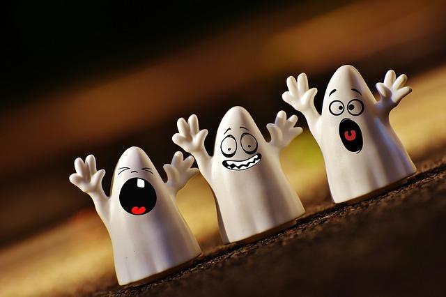 As-tu peur de tes fantômes?